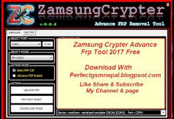 Free Download Samsung Crypter Advanced FRP Removal Tool Full Setup For Windows