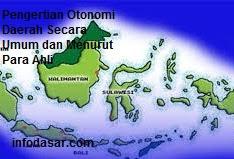Definition Of Regional Autonomy