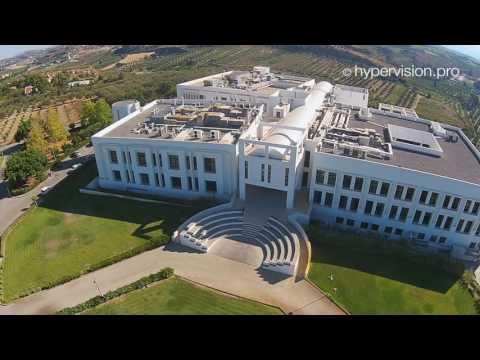 Το Ίδρυμα Τεχνολογίας Έρευνας με drone από ψηλά