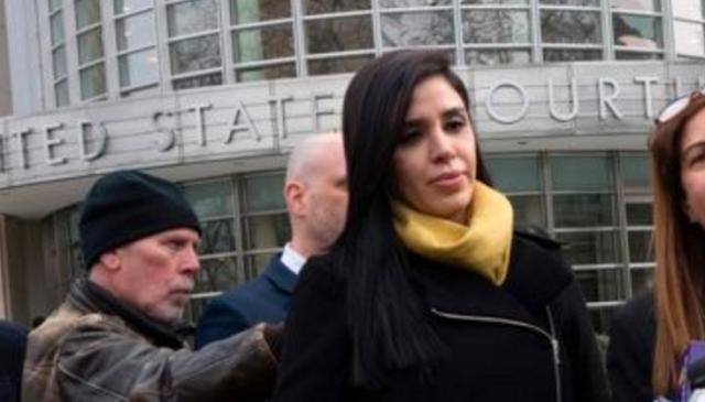 """El rencuentro de Emma Coronel con """"El Chapo"""" Guzmán en Nueva York"""