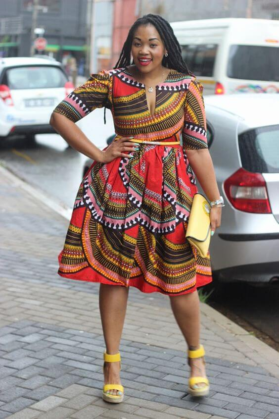 Ankara fabrics ,dresses Designs, Christmas fashion