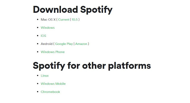 Download Spotify As your Device