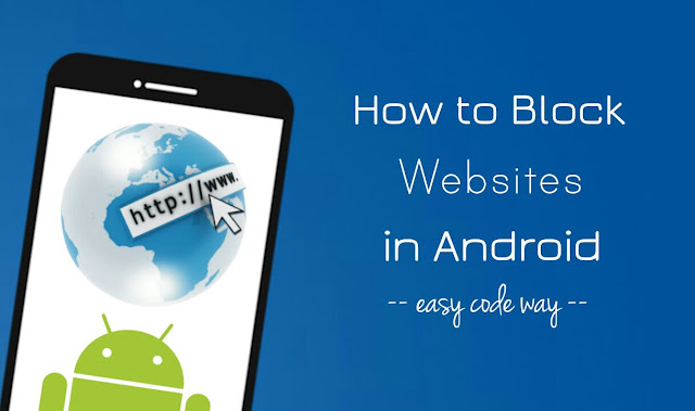Block websites in Android