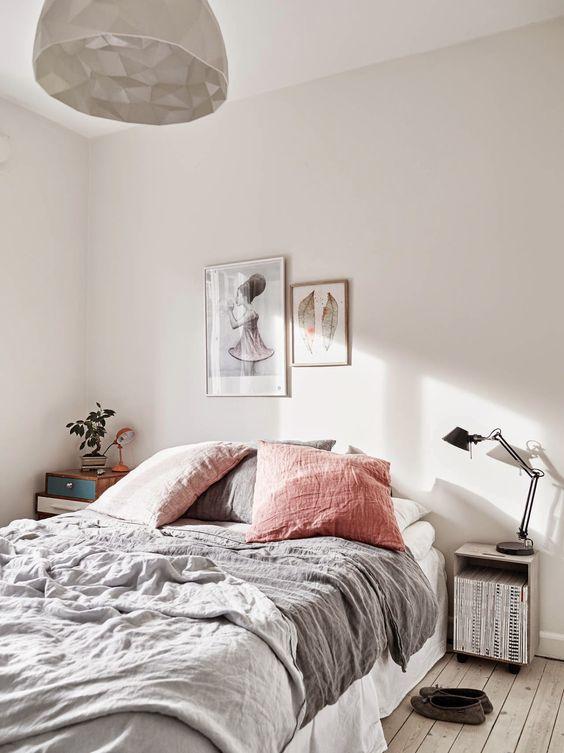 claves para decorar habitación de alquiler con textiles