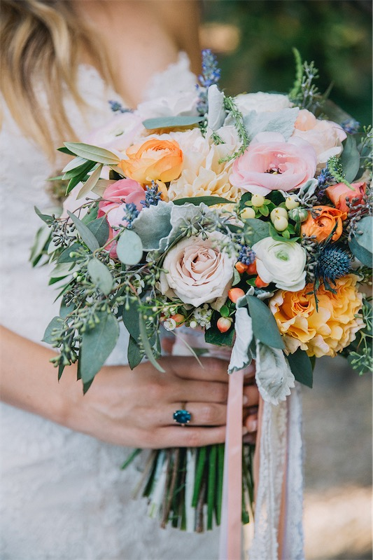 ramos de novia elegantes
