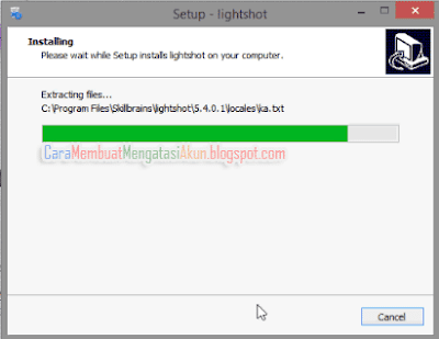 cara screenshot laptop dengan lightshot