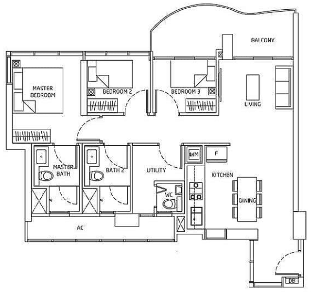 Queens Peak Floorplan5