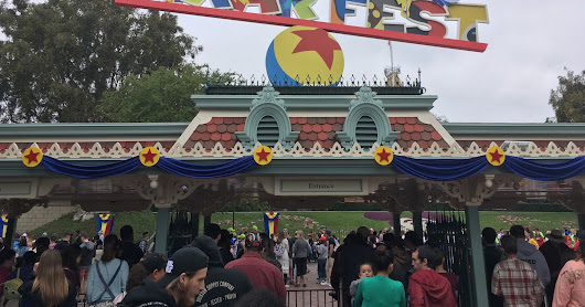 Disneyland Resort Photo Trip Report - Spring 2018 with Construction Updates from Pixar Pier and Star Wars: Galaxy's Edge
