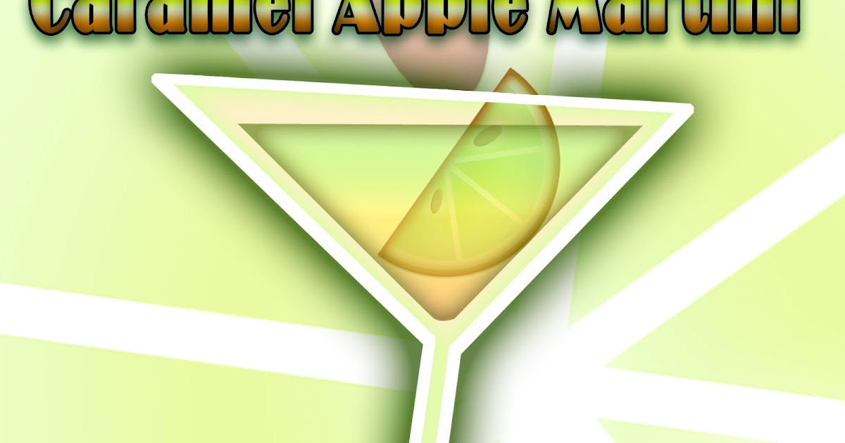 The Martini Diva Caramel Apple Martini