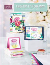 The NEW 2017-18 Stampin' Up! Catalog with Kay Kalthoff Stamping to Share!