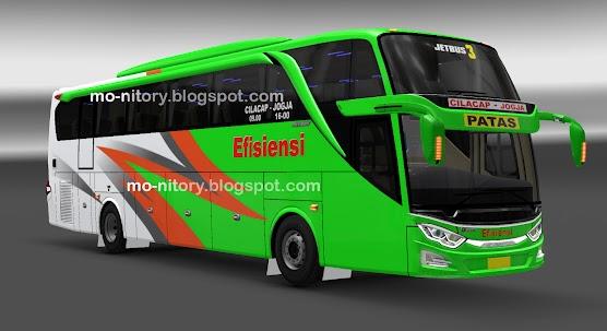 Skin Livery Bus Efisiensi Patas Mod Ets2 Jetbus 3 Armand