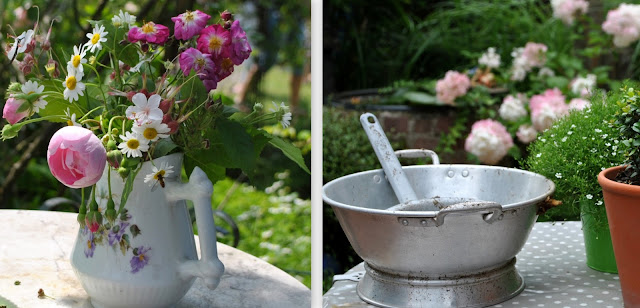 Schönes vom Müll ... Gartendekoration