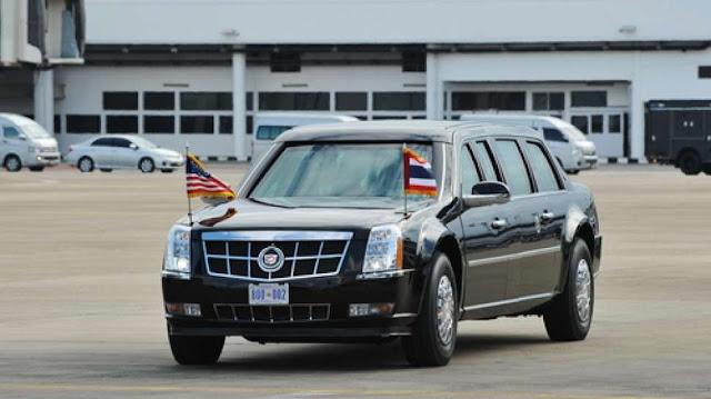 Berbobot 9 Ton dan Mampu Menahan Berbagai Senjata, Inilah Mobil Presiden Donald Trump