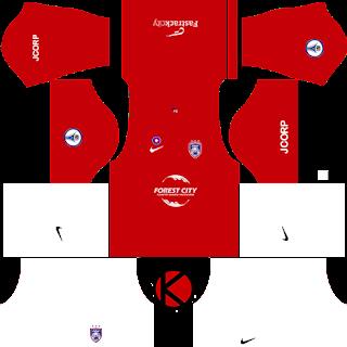Johor Darul Takzim Kits 2017 | Dream League Soccer 2017