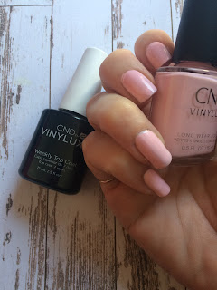 CND Vinylux weekly colour and top coat Candied Pink