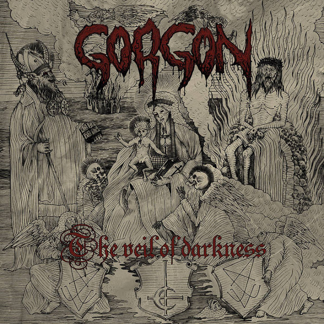gorgon the veil of darkness black metal de France
