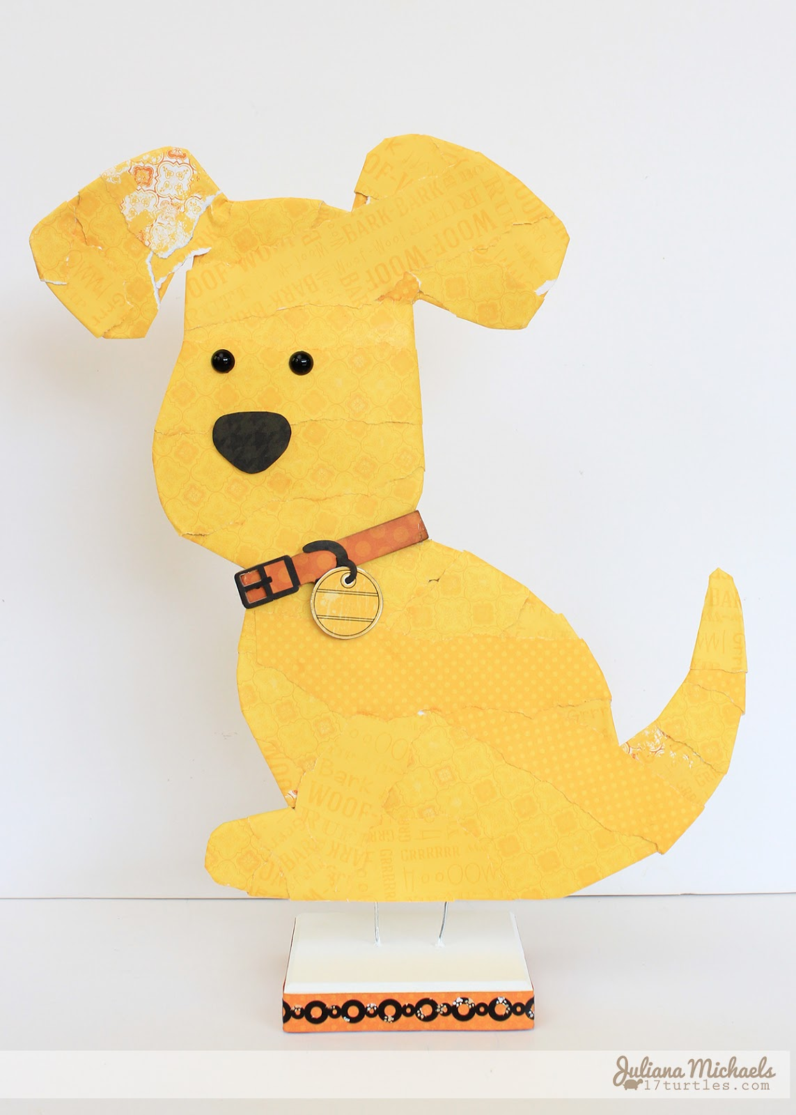 Milo MakeMyChe Juliana Michaels for BoBunny #makemyche #bobunny #happytails #dog #homedecor