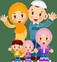 Hasil gambar untuk gambar kartun keluarga indonesia