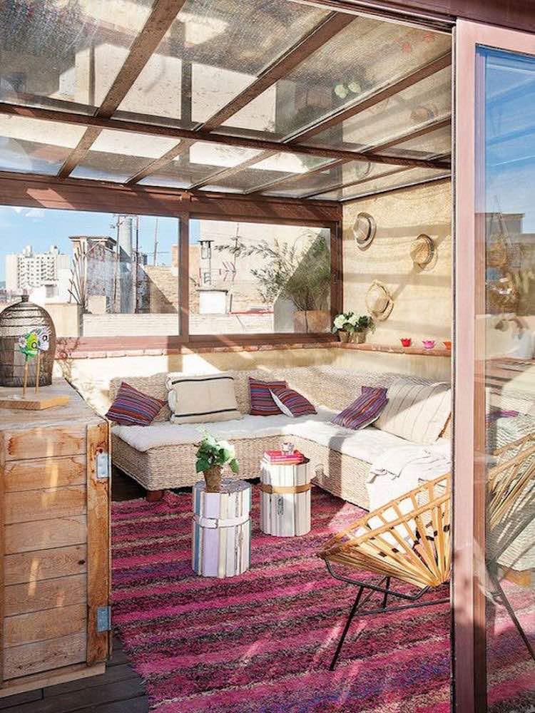 Una Pizca De Hogar Terrazas Y Balcones Libres De Sol 4