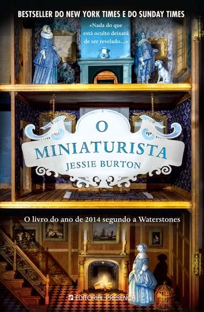 Livro o Miniaturista de Jessie Burton