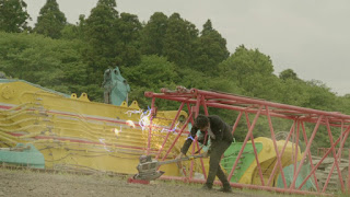 Shinnosuke destroys Mr Belt