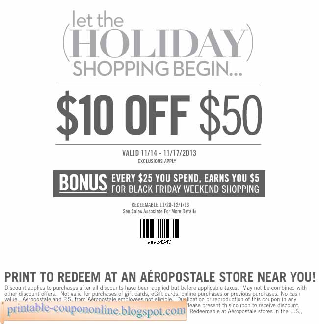If you're looking to buy cool street wear, active wear and contemporary decor and gear for young people at a discount using Aeropostale coupons, you're in the right place. This page is absolutely the best resource for all the promotional deals, in-store and online discount coupons for the store that helps you remain active, casual and fashionable.