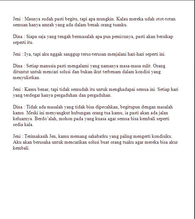 Naskah Drama Bahasa Jawa 7 Orang Pemain Trex 500 Dominator Release