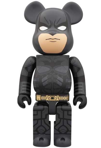 The Dark Knight Rises Batman 400% Be@rbrick by Medicom