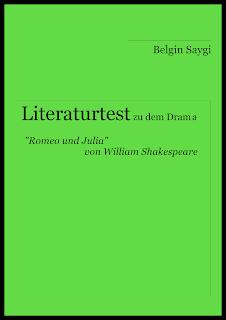 """Arbeitsmaterial zum Thema """"Romeo und Julia"""" von William Shakespeare für die Schule."""