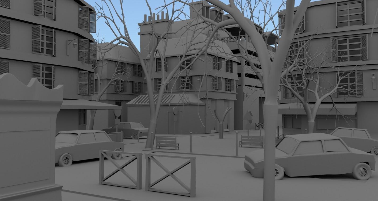 Deepak Kadam: 3d modeling and texturing
