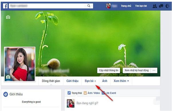 Cach an theo doi nguoi khac tren facebook