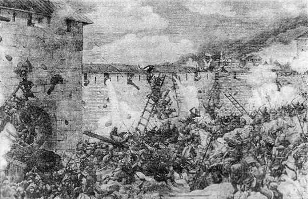 Взятие Москвы ханом Тохтамышем