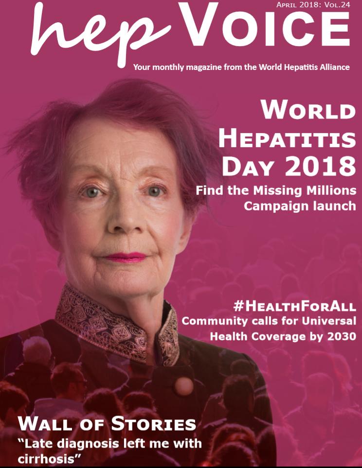 World hepatitis alliance april issue hep voice thecheapjerseys Gallery