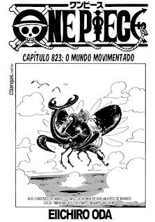 One Piece 823 Mangá Português leitura online
