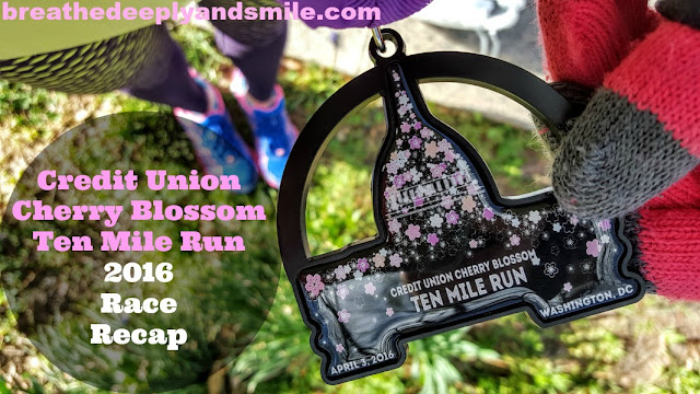 Cherry Blossom Ten Miler 2016 Race Recap