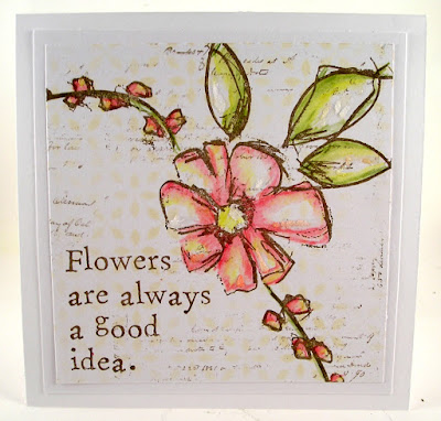 Dina Wakely Stamps - Good Ideas Ranger Layering Stencil Nordic Stampers Anonymous Entomology For the Funkie Junkie Boutique
