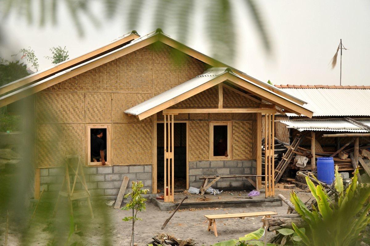 Foto Diklaim Tempo, Ini Keterangan Penggagas Rumah Sementara Korban Erupsi Merapi