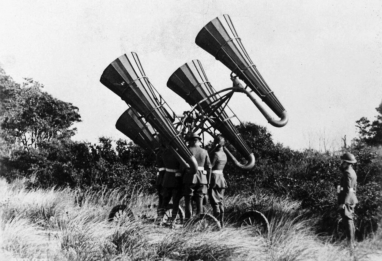 war steampunk during radio radar communications military darwincatholic invention technology ww1 generator german ii wwi american acoustic power warfare ww