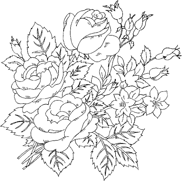 flower coloring pages for teens | Awesome Coloring Pages For Teens Girls – Colorings.net