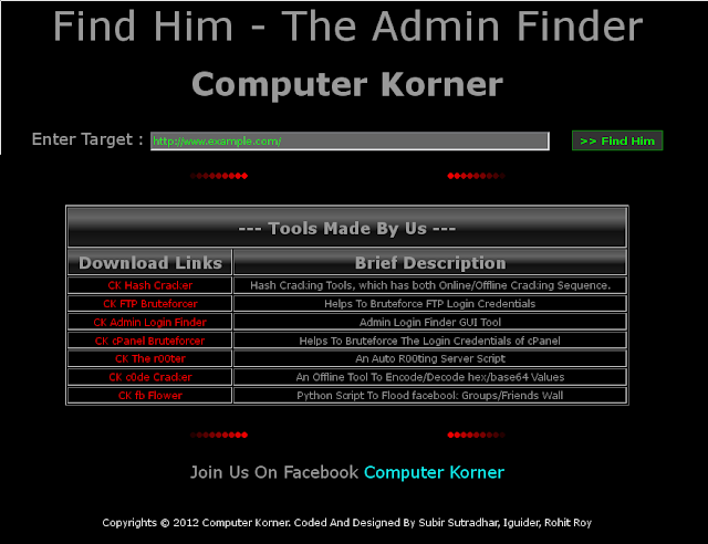 Cara Menemukan Page Admin Login Page Pakai Admin Finder di Kali Linux