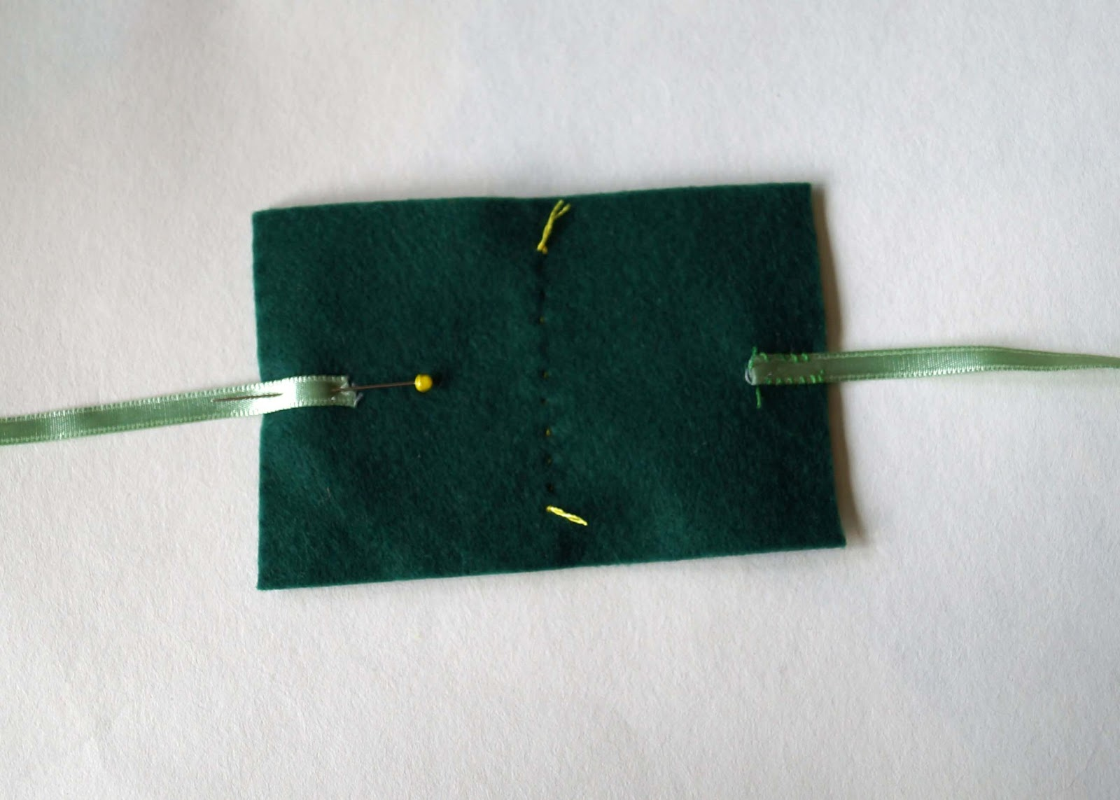 Buttons And Paint...: ... And A Felt Needle Case