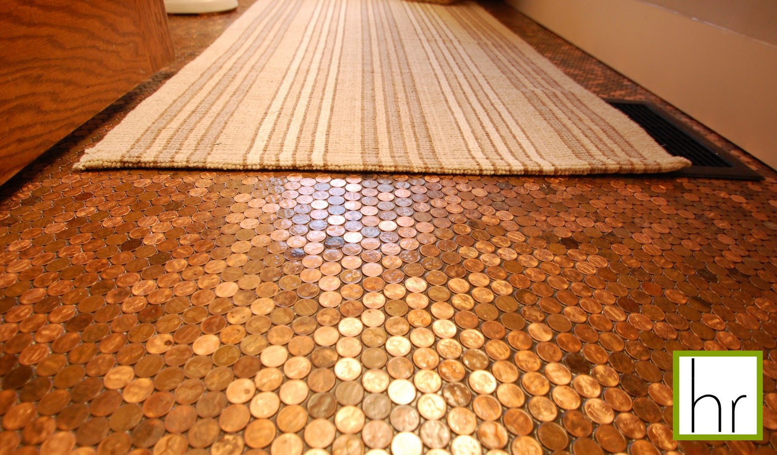 Beatrice Banks: B List and Penny Tile Floor