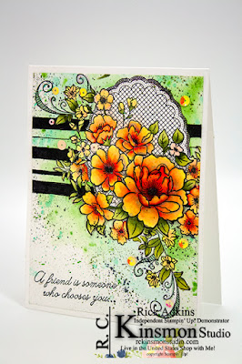 Image result for lovely lattice stampin up