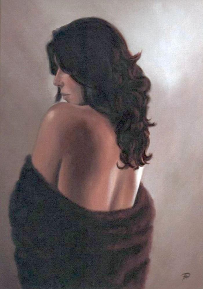 Эмоциональные портреты и фигуративные картины