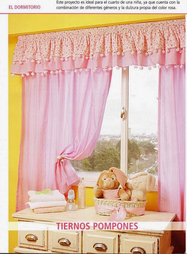 Como hacer cortinas revistas de manualidades gratis for Como hacer cortinas