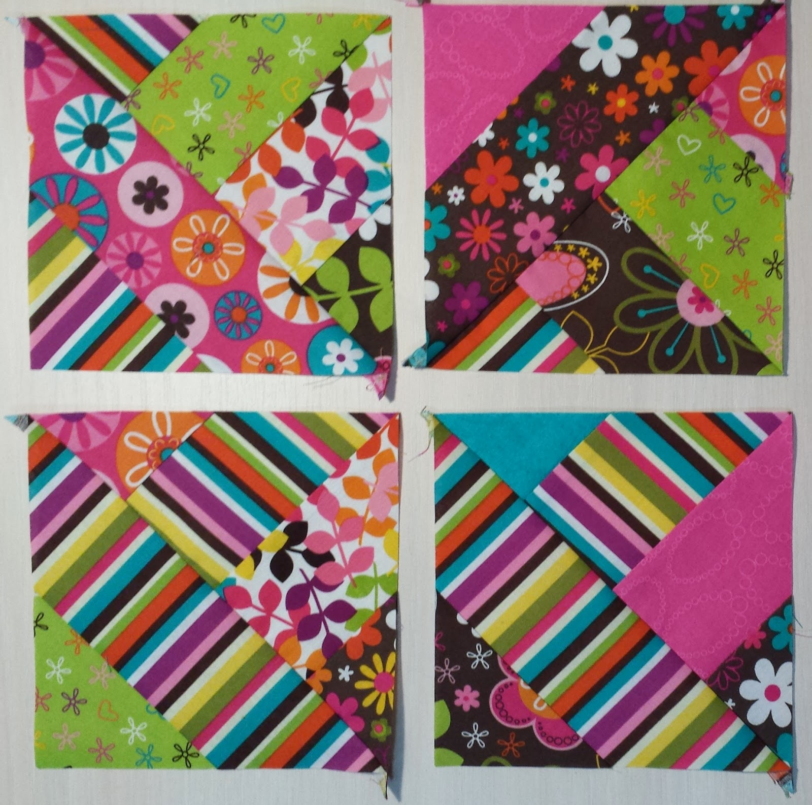 easy piecing quilt from strips