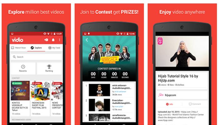Vidio.com, Aplikasi Baru Tempat untuk Nonton Video - Nekstren