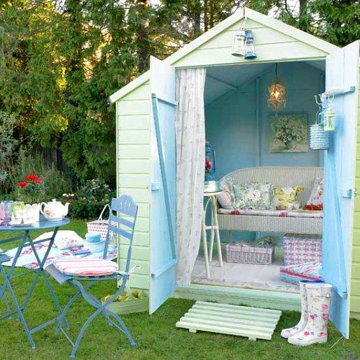 20 Summer House Design Ideas: Shabby Chic Summer Houses
