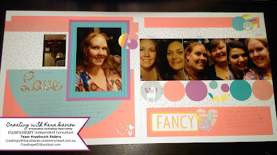 Layout by Creating with Kara Davies : Australasian Blog Hop - Little Dreamer CTMH