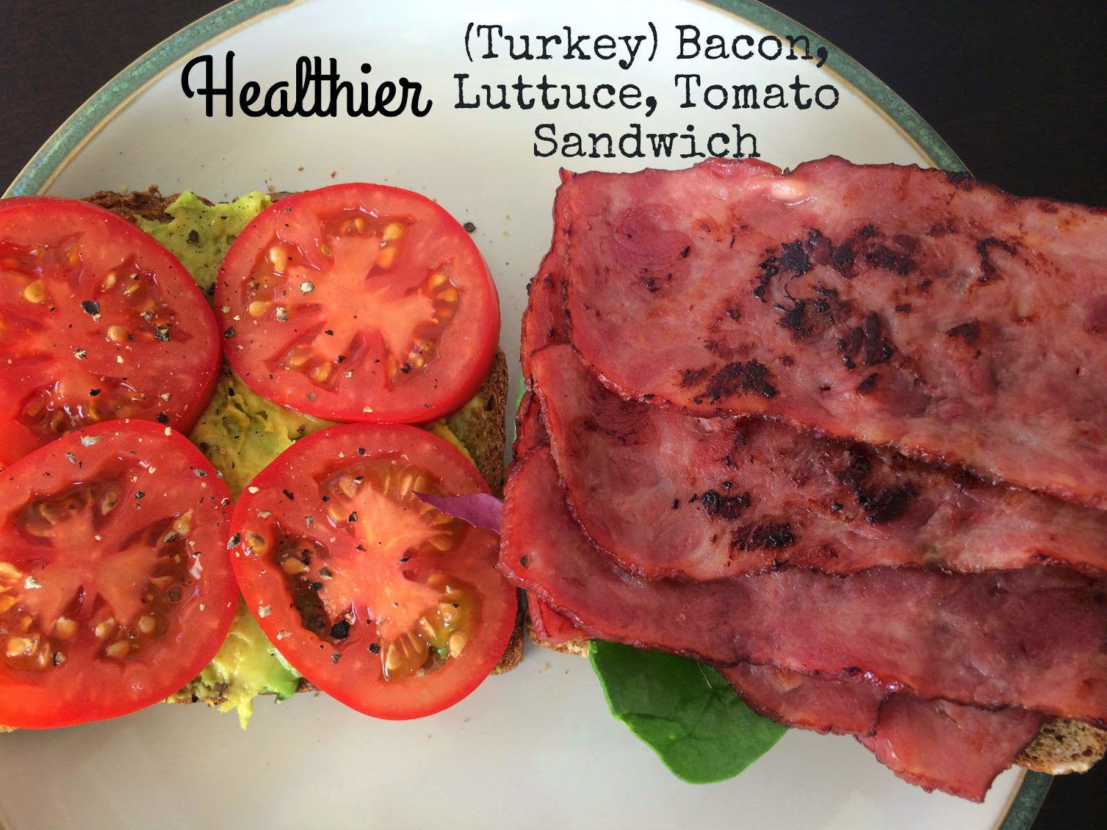 Turkey Bacon Lettuce Tomato Sandwich